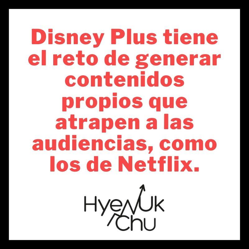 Clave sobre Disney Plus - Hyenuk Chu