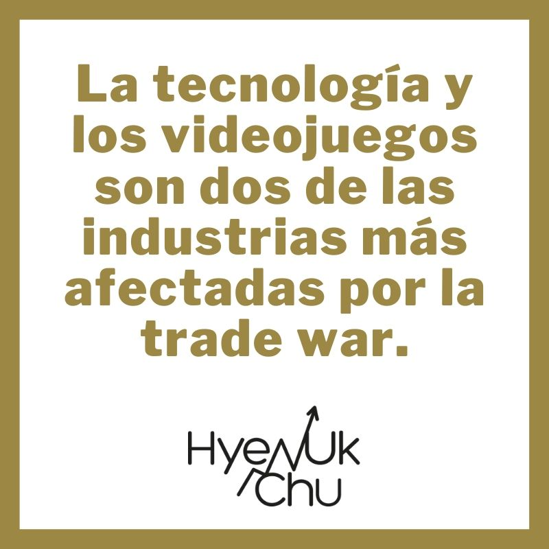 Clave sobre Empresas y trade war - Hyenuk Chu