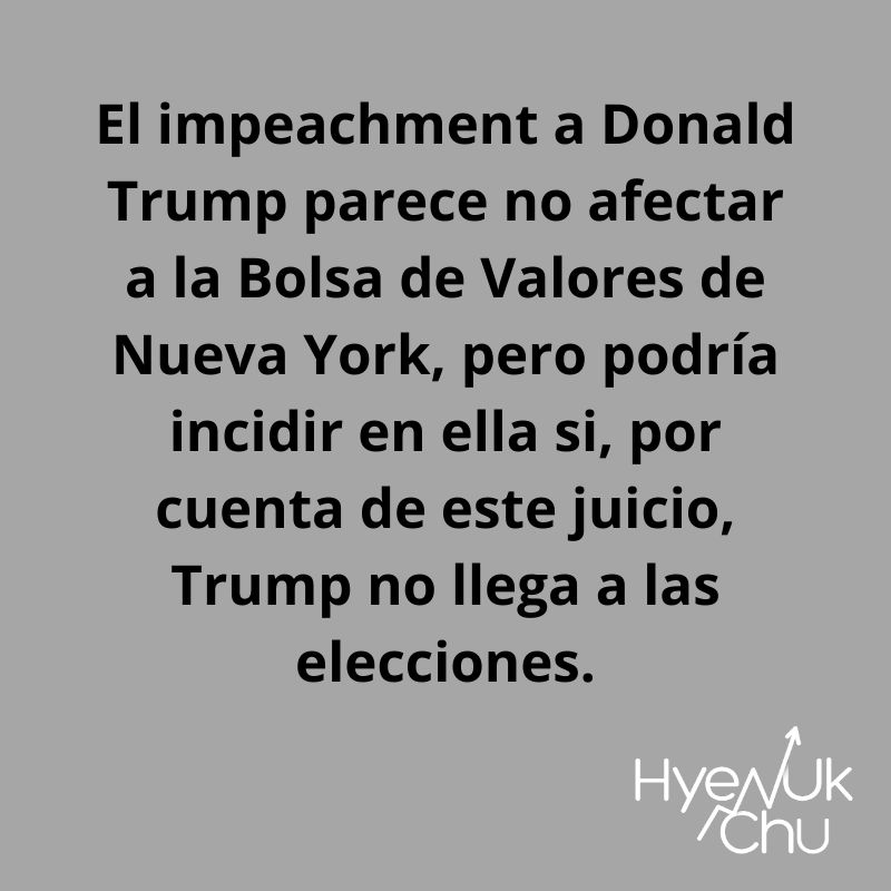 Clave sobre el impeachment a Trump - Hyenuk Chu
