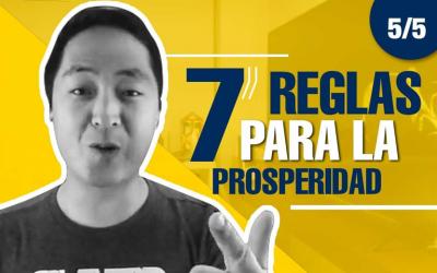 [Masterclass] 7 Reglas Para La Prosperidad – 5 De 5 – Hyenuk Chu