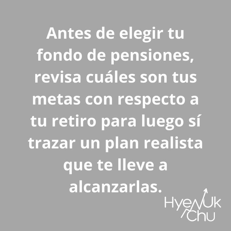 No olvides esto sobre tu plan de pensiones - Hyenuk Chu