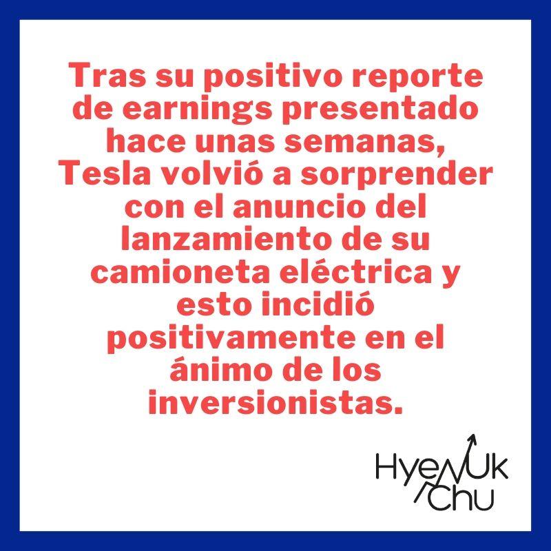 Clave sobre la Tesla Cybertruck - Hyenuk Chu