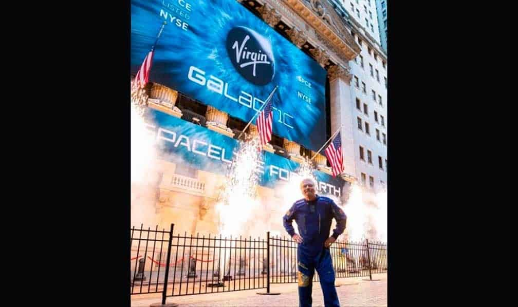 En la Bolsa debutó Virgin Galactic - Hyenuk Chu