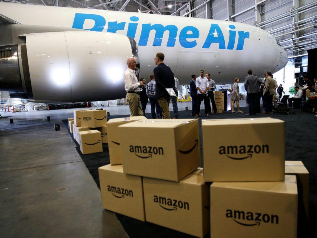 Por servicio de mensajería pelean Amazon y FedEx - Hyenuk Chu