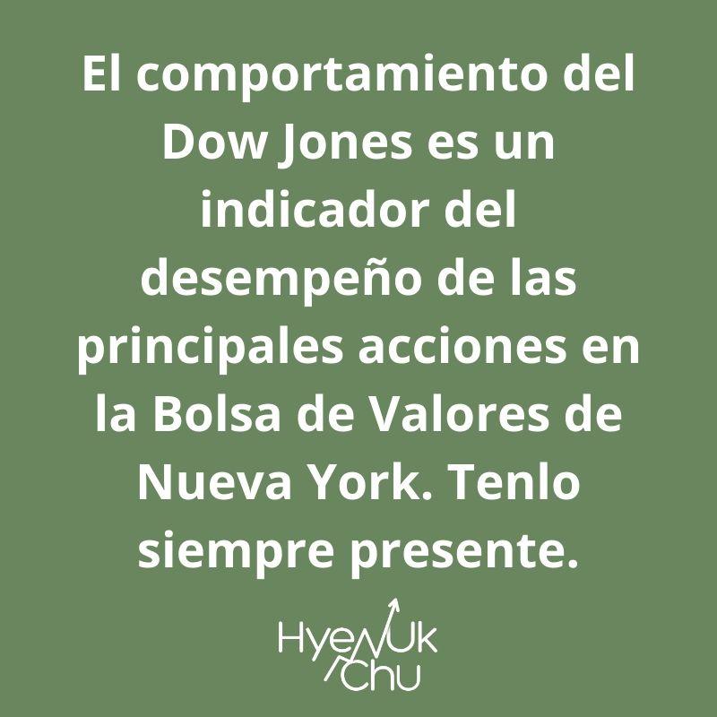 Clave sobre el Dow Jones – Hyenuk Chu