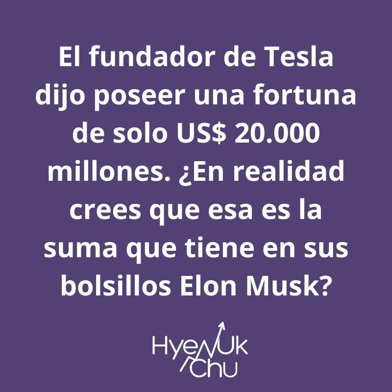 Dato sobre el fundador de Tesla – Hyenuk Chu