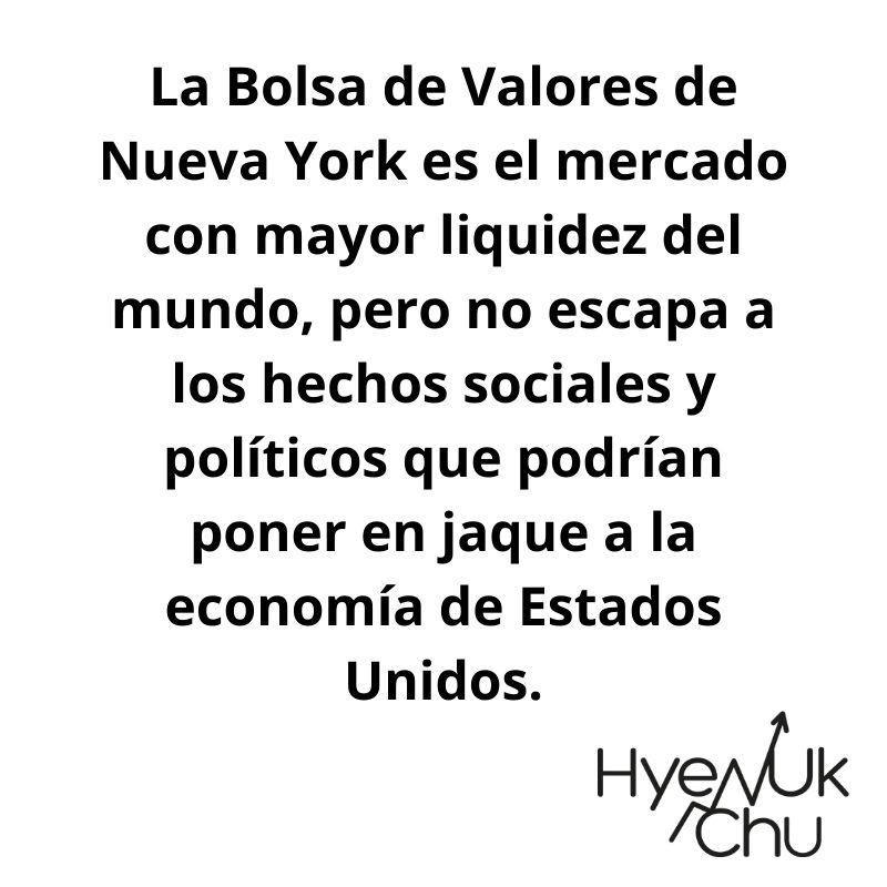 Tip sobre la Bolsa de Nueva York - Hyenuk Chu