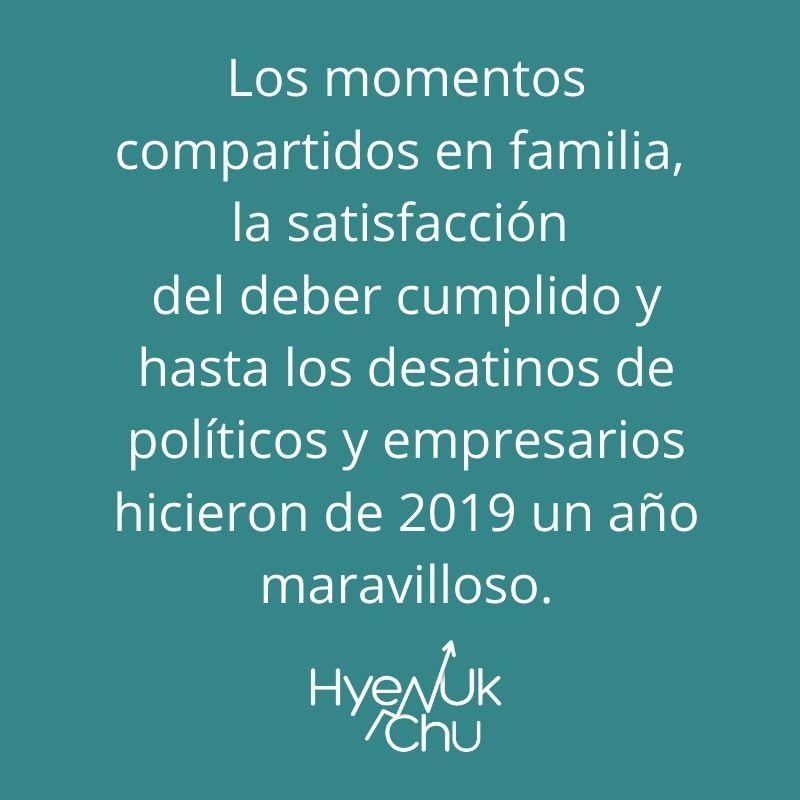 Los momentos 2019 - Hyenuk Chu