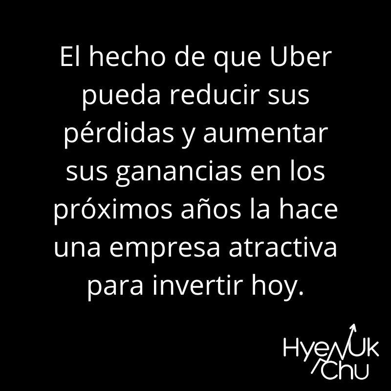 Dato sobre la acción de Uber - Hyenuk Chu