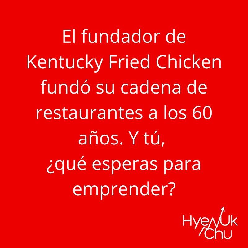 Dato sobre el fundador de Kentucky Fried Chicken - Hyenuk Chu