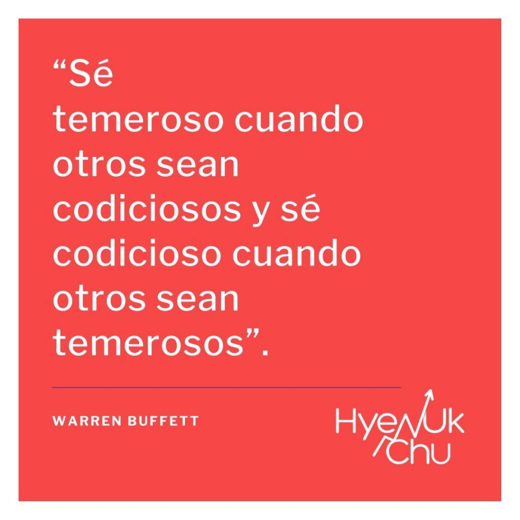 Las frases inspiradoras de millonarios como Buffett - Hyenuk Chu