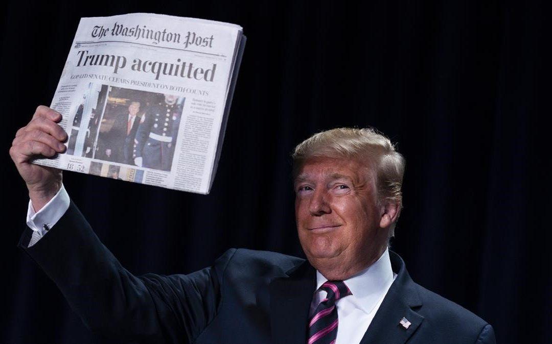 Absolución De Trump En El Impeachment Devuelve La Calma A Los Mercados – Hyenuk Chu