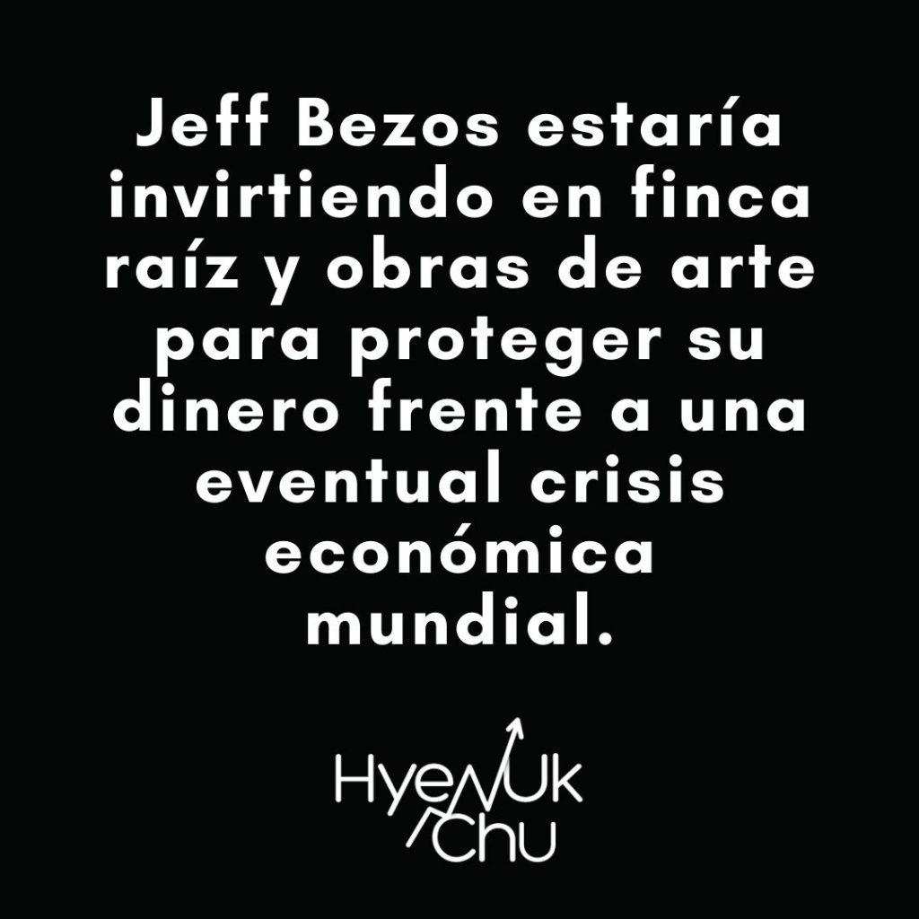 Tip sobre Jeff Bezos - Hyenuk Chu