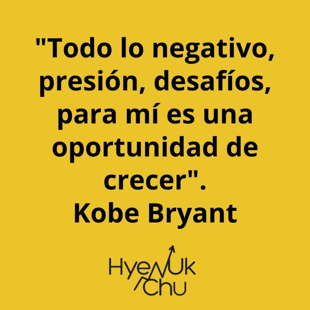 Frase de Kobe Bryant - Hyenuk Chu