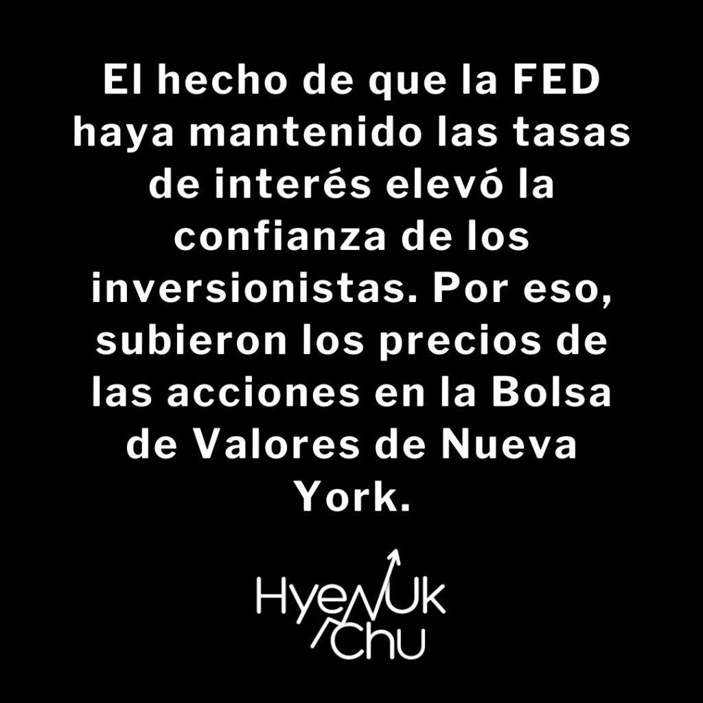 La decisión de la Reserva Federal - Hyenuk Chu