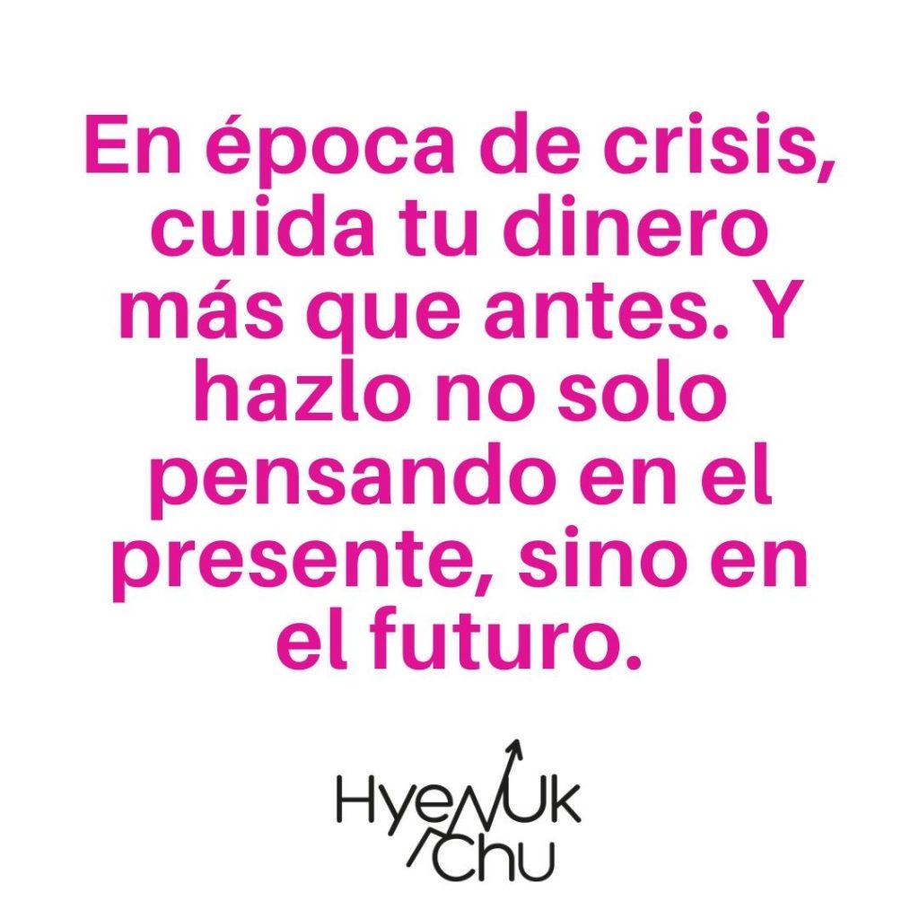 Clave sobre la crisis económica - Hyenuk Chu
