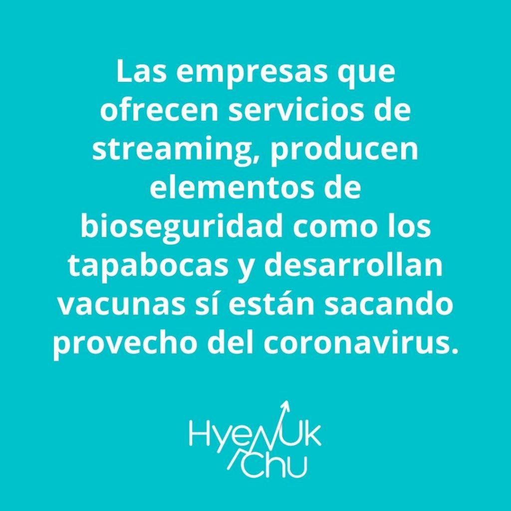 ¿Por qué algunas empresas dicen gracias coronavirus? - Hyenuk Chu
