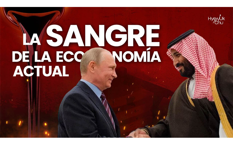 [CRISIS del 2020] GUERRA de PETRÓLEO 🛢Rusia vs Arabia Saudita - (ORO NEGRO💰⚫) – Hyenuk Chu