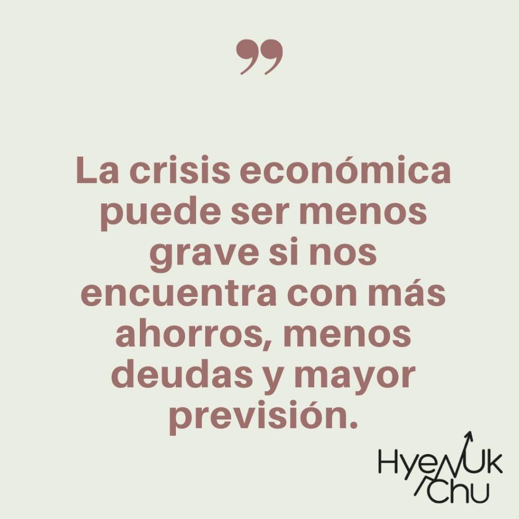 Dato sobre las finanzas en crisis - Hyenuk Chu