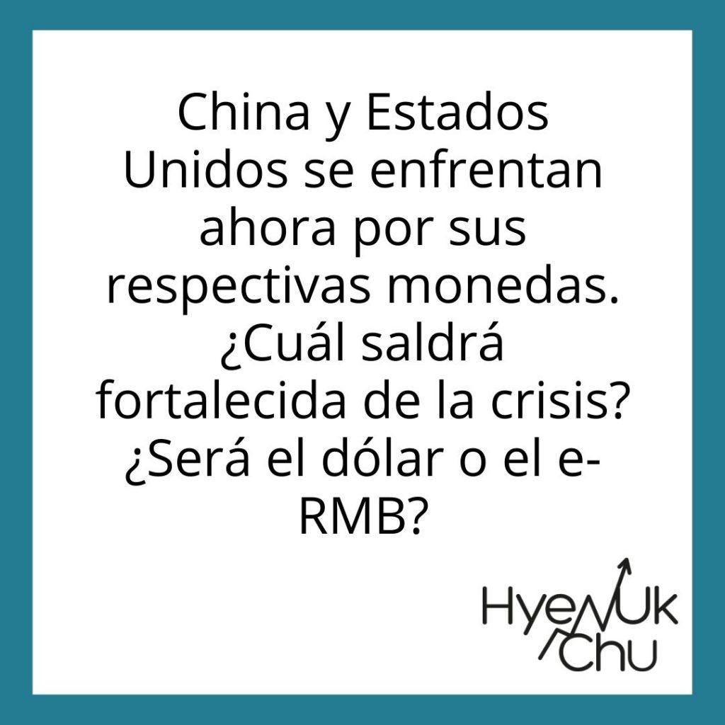 Clave sobre el Dólar, USA y China - Hyenuk Chu