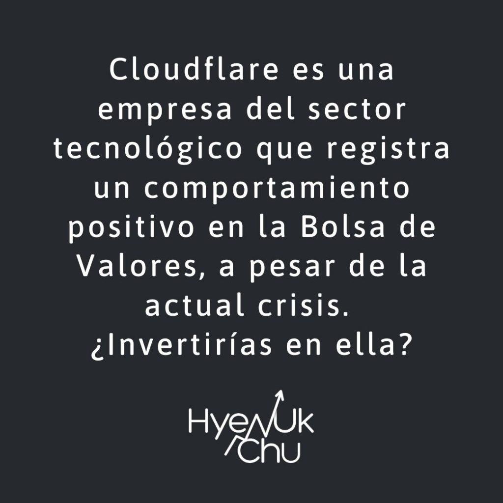 En la Bolsa de Valores cotiza Cloudflare - Hyenuk Chu