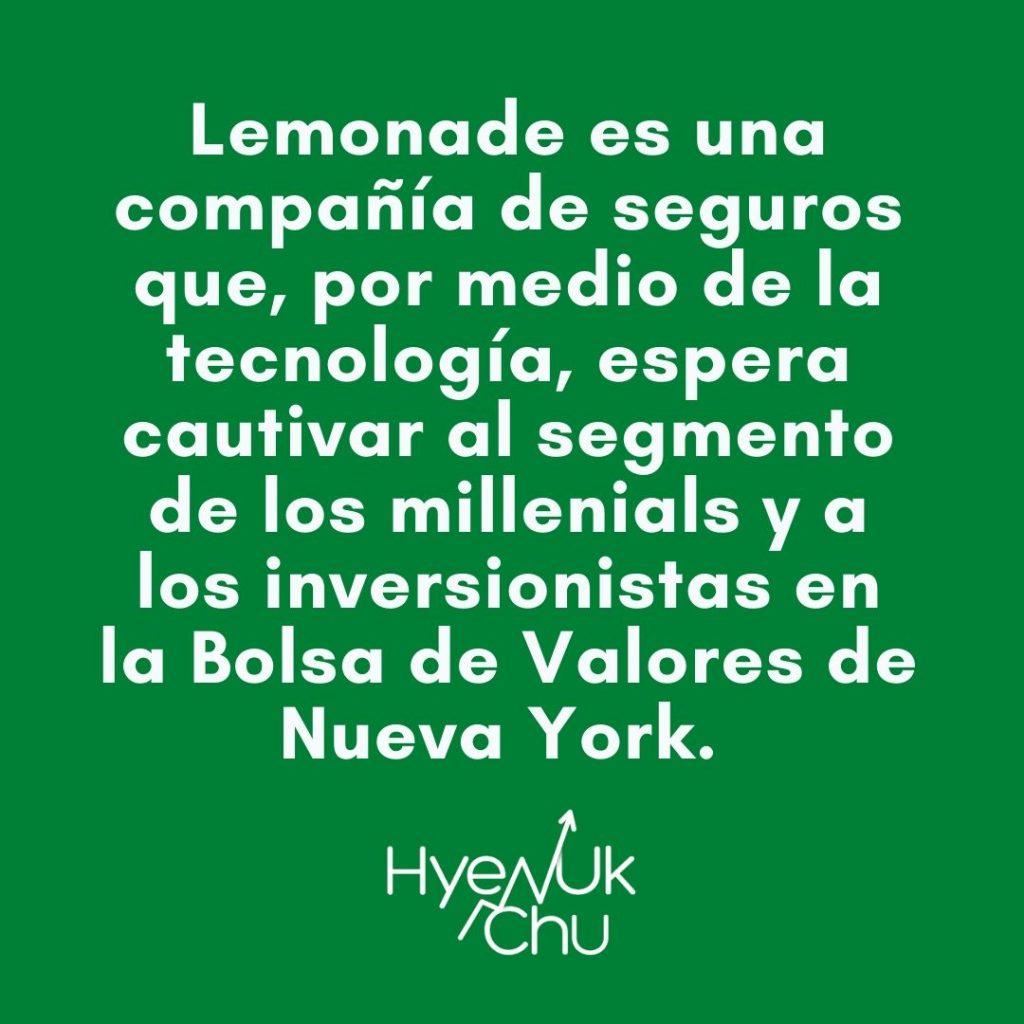 El éxito de Lemonade - Hyenuk Chu