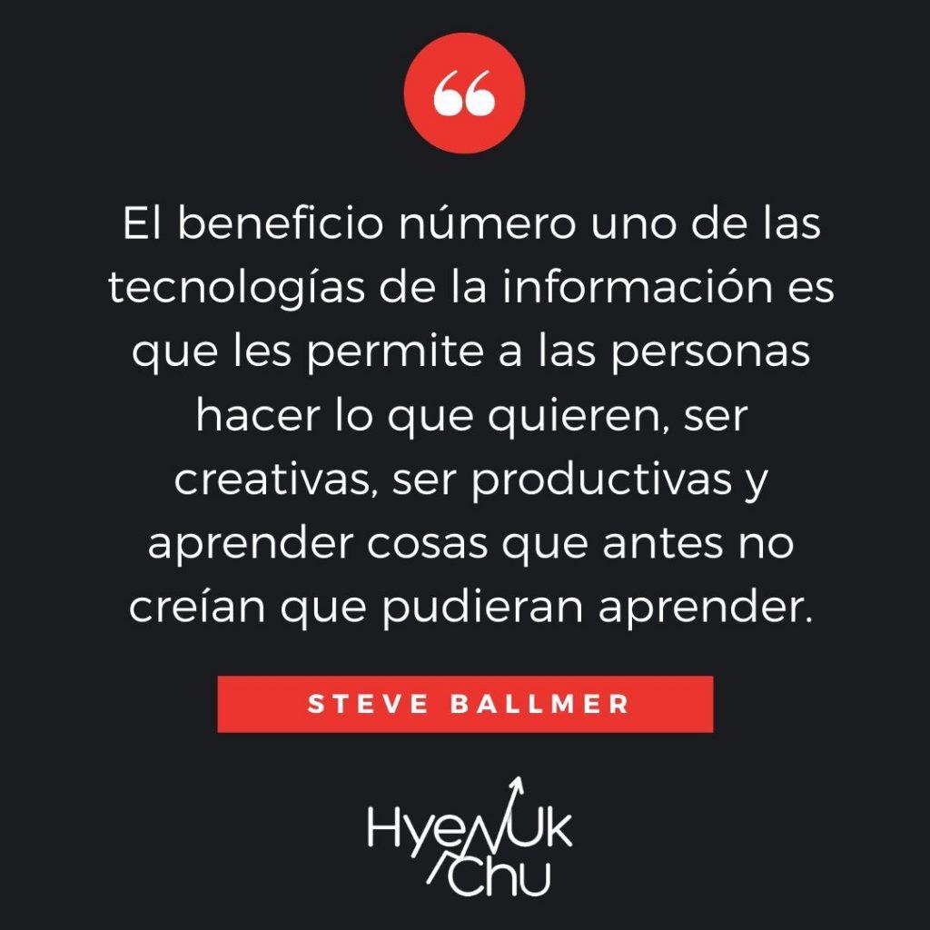 Dato sobre Steve Ballmer – Hyenuk Chu