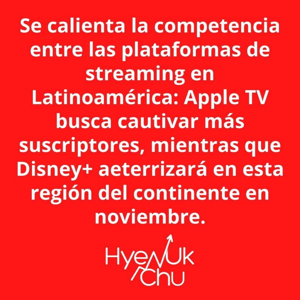 Para tener en cuenta sobre Apple TV Y Disney+ - Hyenuk Chu