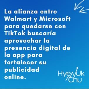 Para conocer más sobre Walmart Y Microsoft - Hyenuk Chu