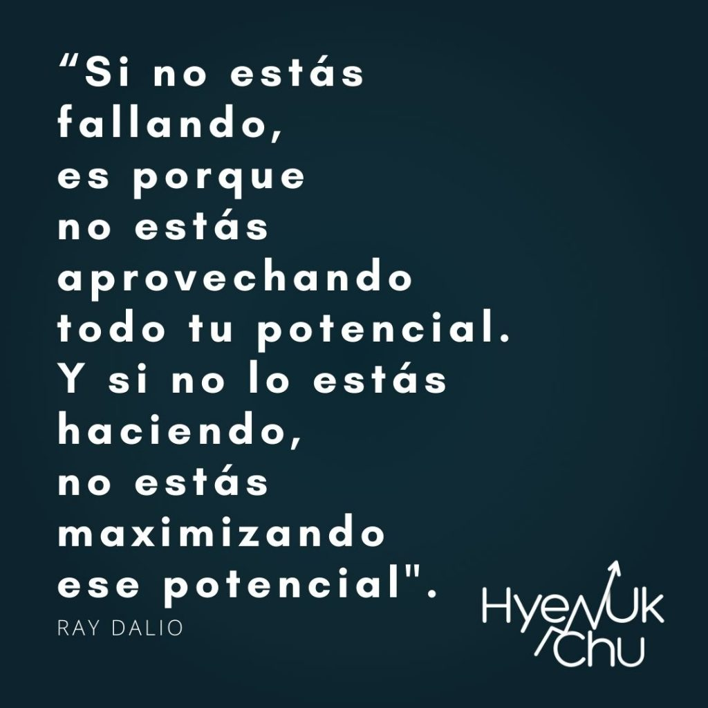 Frase de Ray Dalio - Hyenuk Chu