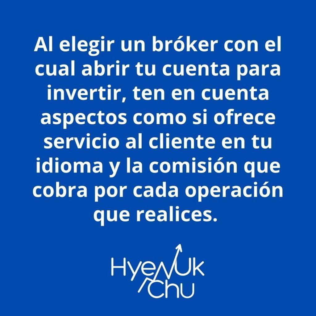 Investiga y sabrás mejor qué es un bróker – Hyenuk Chu