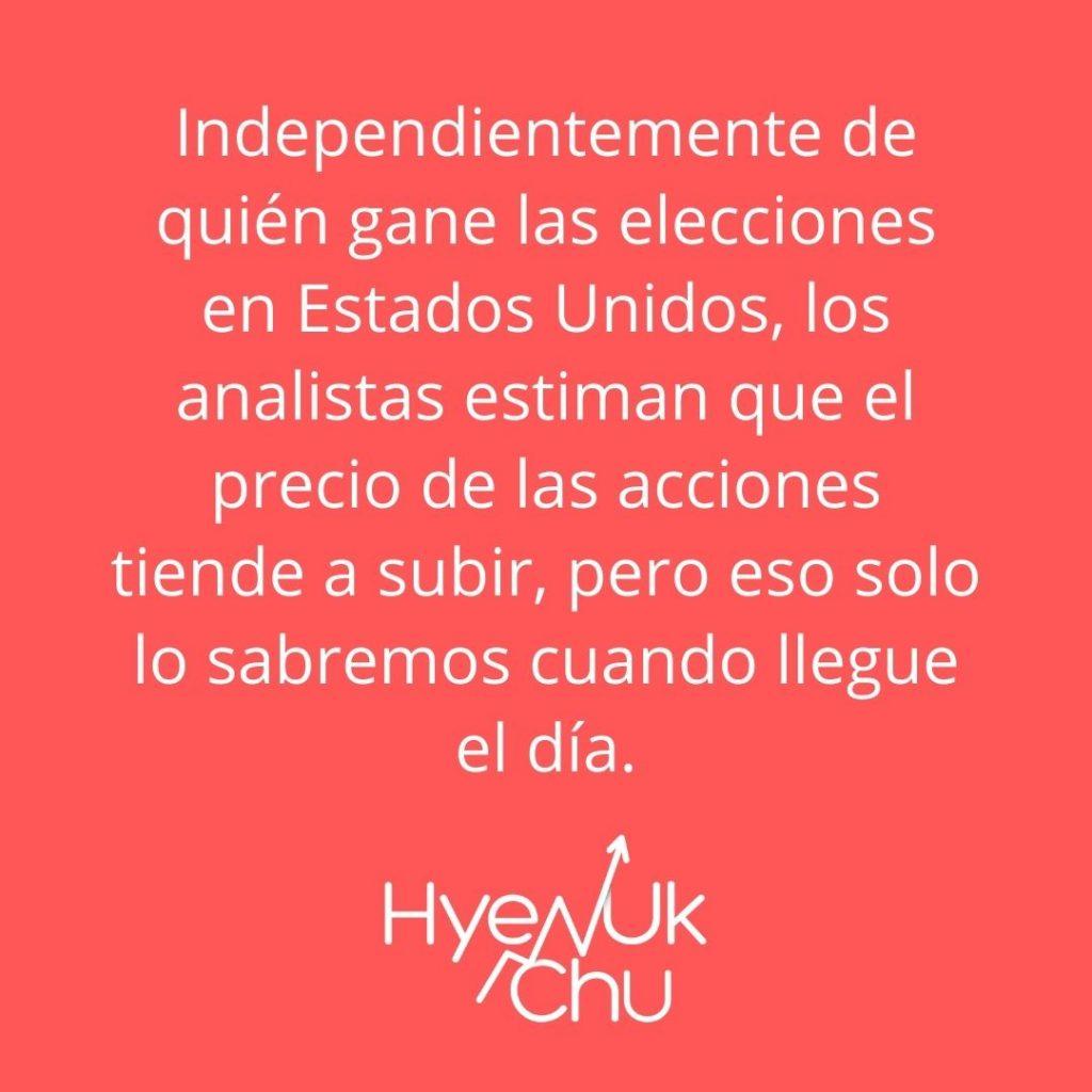 Tip sobre el efecto de las elecciones de Estados Unidos en la Bolsa De Valores – Hyenuk Chu