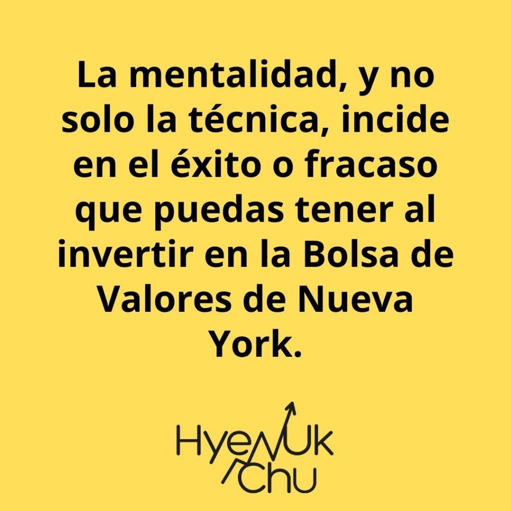 La Mentalidad Es Responsable Del 80% De Tu Éxito Al Invertir – Hyenuk Chu