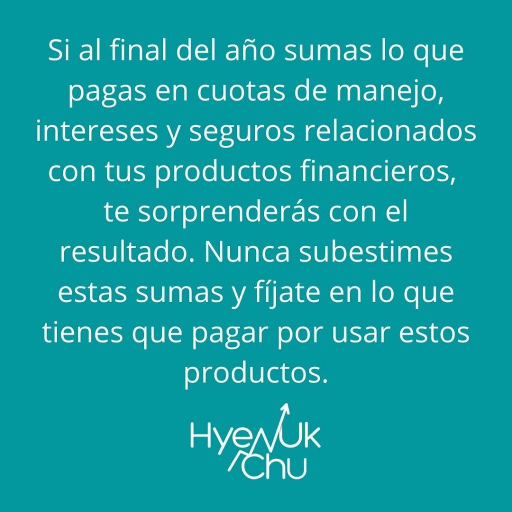 Estrategia sobre tus productos financieros - Hyenuk Chu