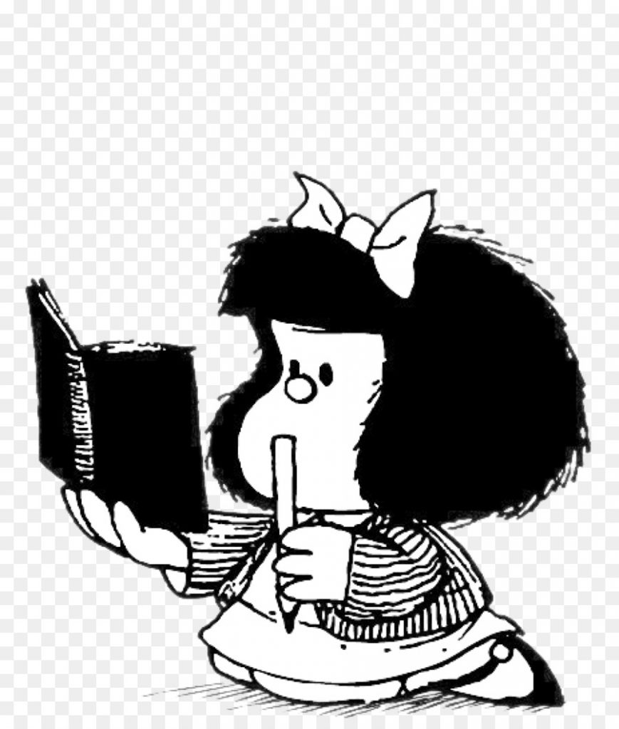 Quino y Mafalda son claves en la historia del comic - Hyenuk Chu