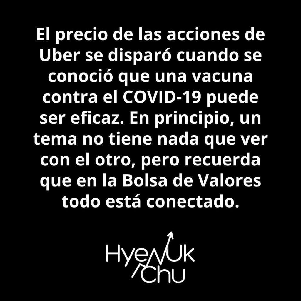 ¿Por qué subió el precio de las acciones de Uber? – Hyenuk Chu