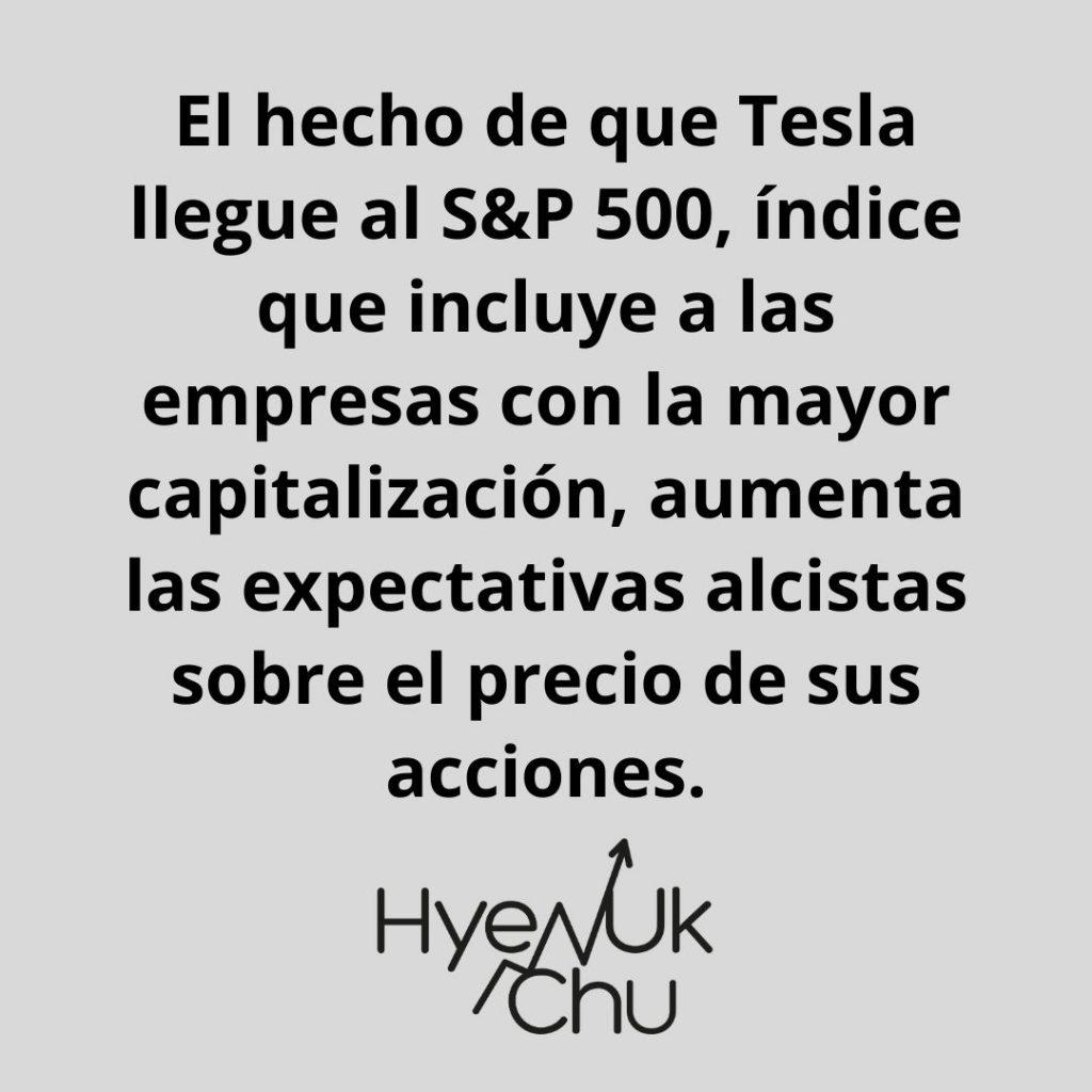 Si Tesla está incluida en el Índice S&P 500, ¿debemos invertir en ella? – Hyenuk Chu