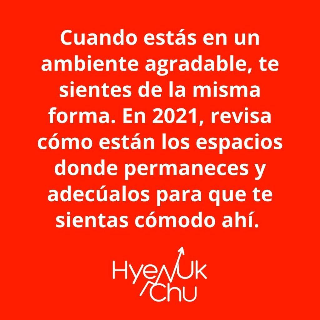 Empieza El 2021 Con Energías Positivas – Hyenuk Chu
