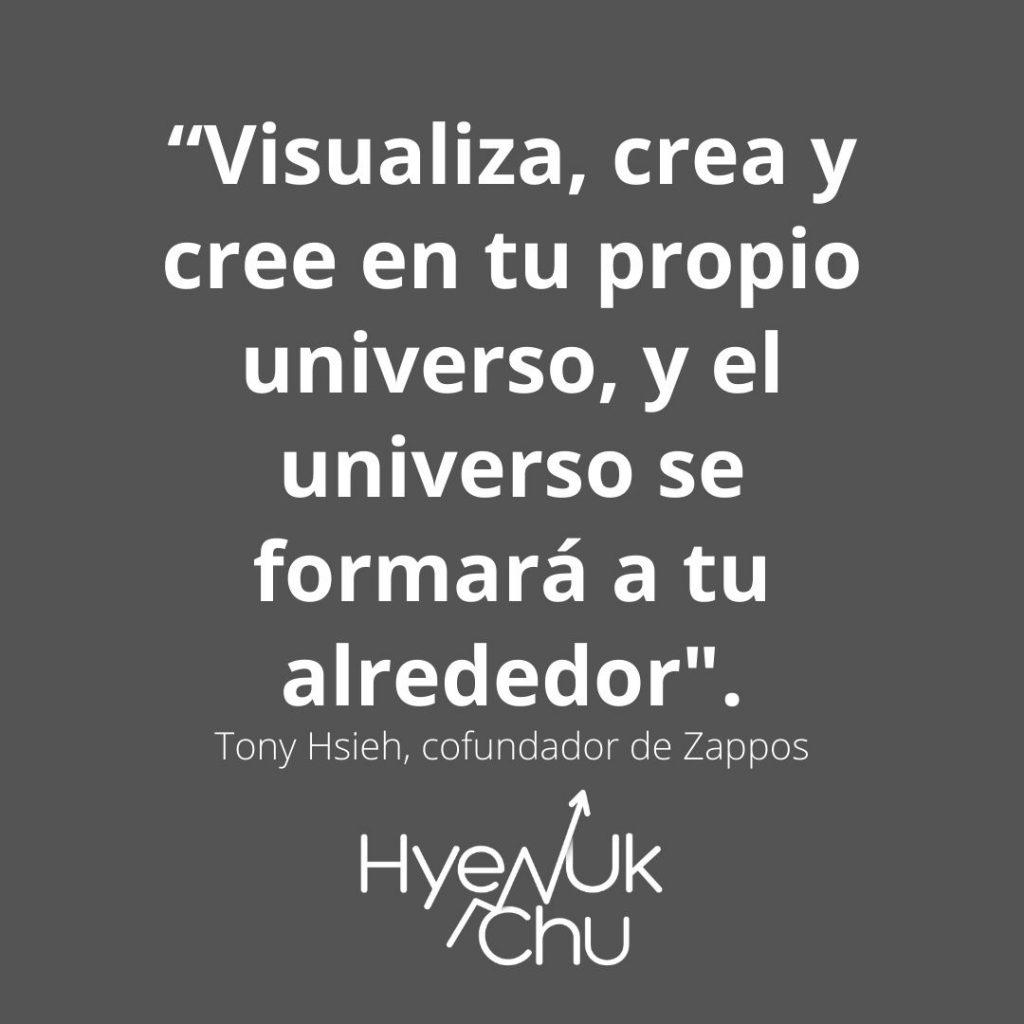 Frase del fundador de Zappos – Hyenuk Chu