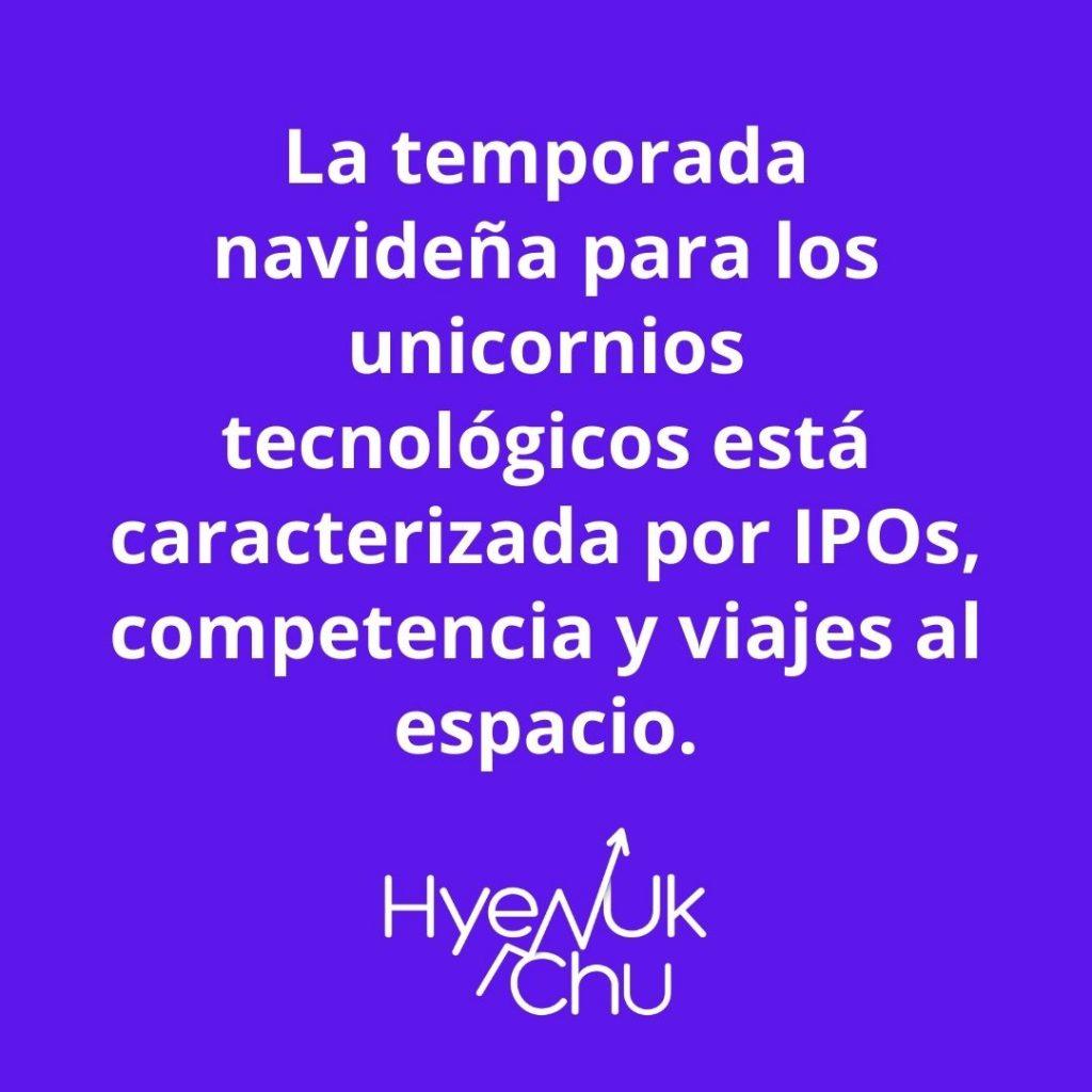 Recuerda esto sobre la temporada navideña para los unicornios tecnológicos – Hyenuk Chu