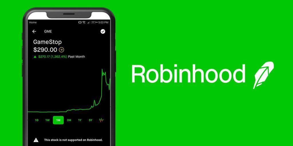 Robinhood restringió la compra de acciones de GameStop