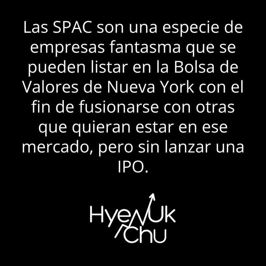 Definición sobre qué son los SPAC