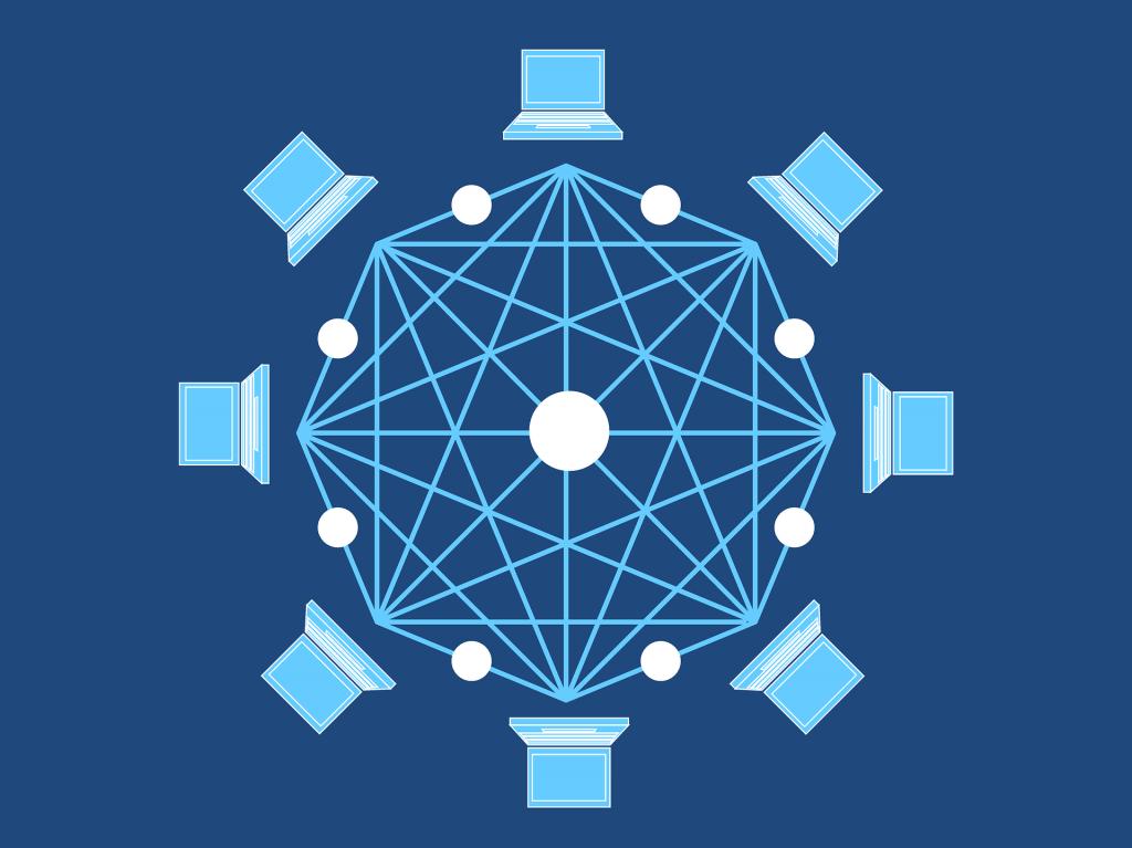 Los NFT están soportados en la tecnología blockchain