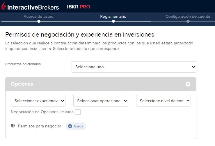 El cómo abrir una cuenta en InteractiveBrokers no es más importante que tu experiencia como trader