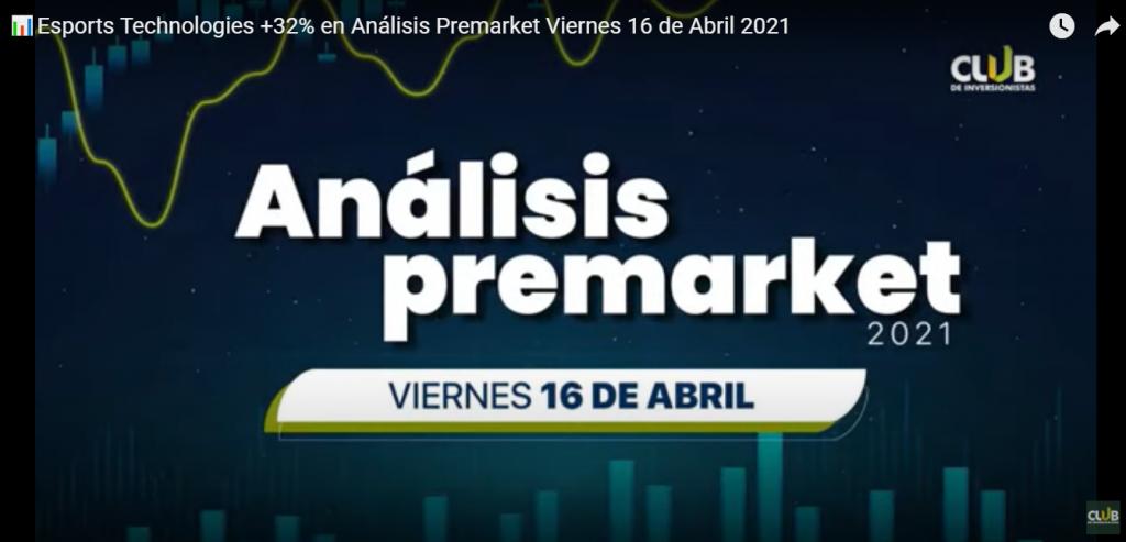 CDI ofrece servicios pagos y gratuitos, como los análisis premarket que transmitimos por YouTube