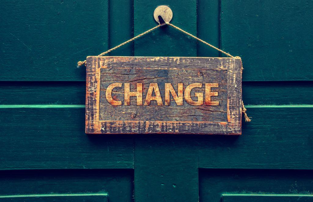 Cuando quieras mejorar tu vida, no le tengas miedo al cambio