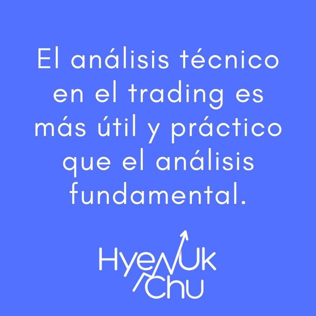 No olvides esto sobre análisis técnico trading