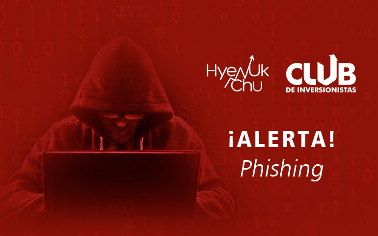 El Club De Inversionistas Alerta De Phishing - No Caigas – Hyenuk Chu