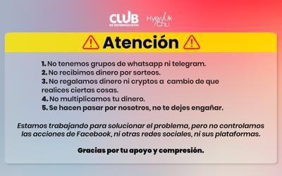 El Club De Inversionistas Alerta De Phishing ¡No Caigas! – Hyenuk Chu