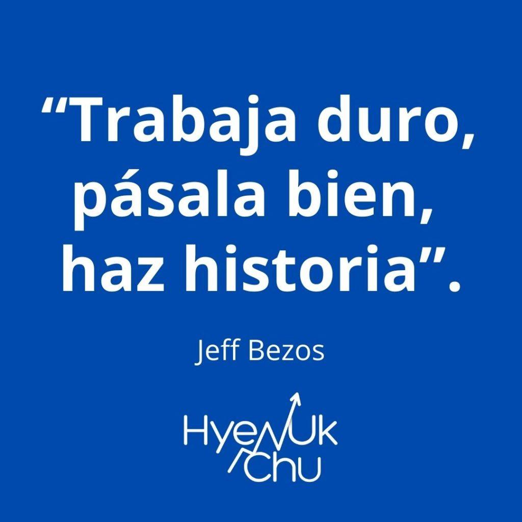 Frase de Jeff Bezos